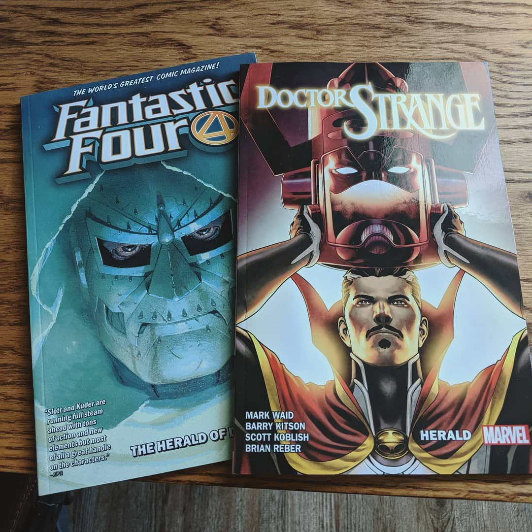 Fantastic Four and Doctor Strange comics